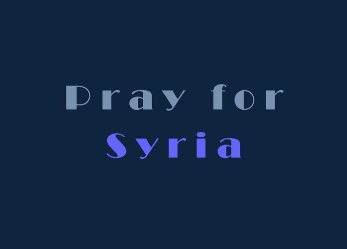 Words from the Heart… and Prayers of a Syrian Pastor