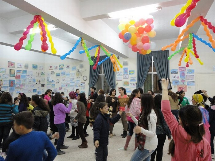 Child Friendly Spaces for Children Affected by the Syria Crisis