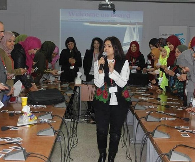 SKILD reaches out to the Palestinian community