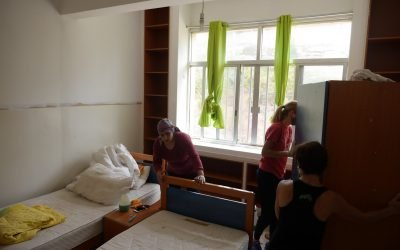 Housing the Homeless: ABTS Welcomes 70 Displaced Persons