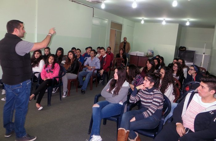 BCYM Easter Camp for Home of Hope Teenagers