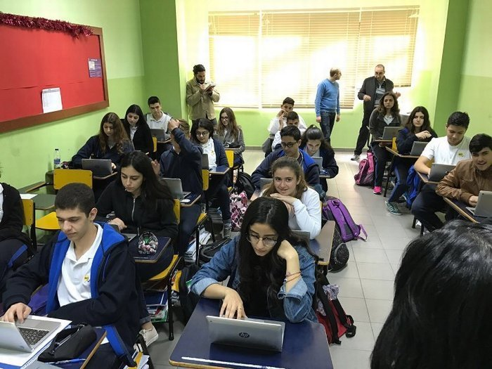 Beirut Baptist School e-Learning Trial Event