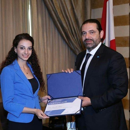 Former Intern of the Lebanese Prime Minister Joins LSESD Team
