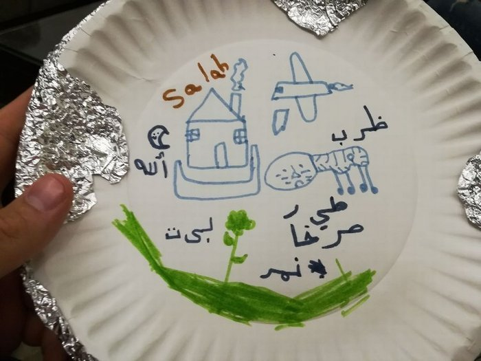 Transformed Lives: Drawing on Plates